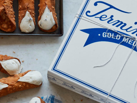 Cannoli from Termini Brothers bakery