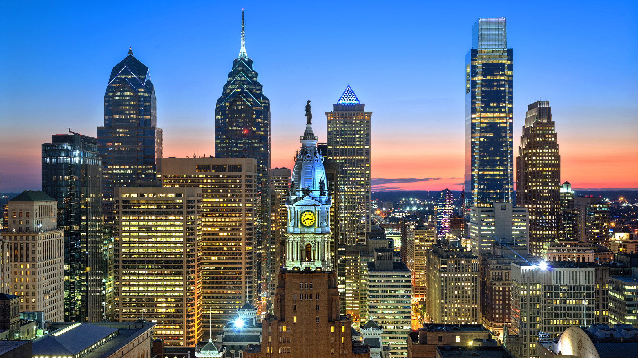 Top Five Sky High Vantage Points In Philadelphia