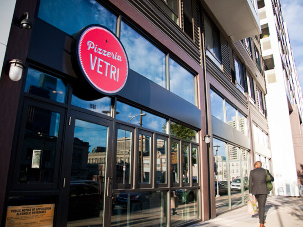 Exterior of Pizzeria Vetri