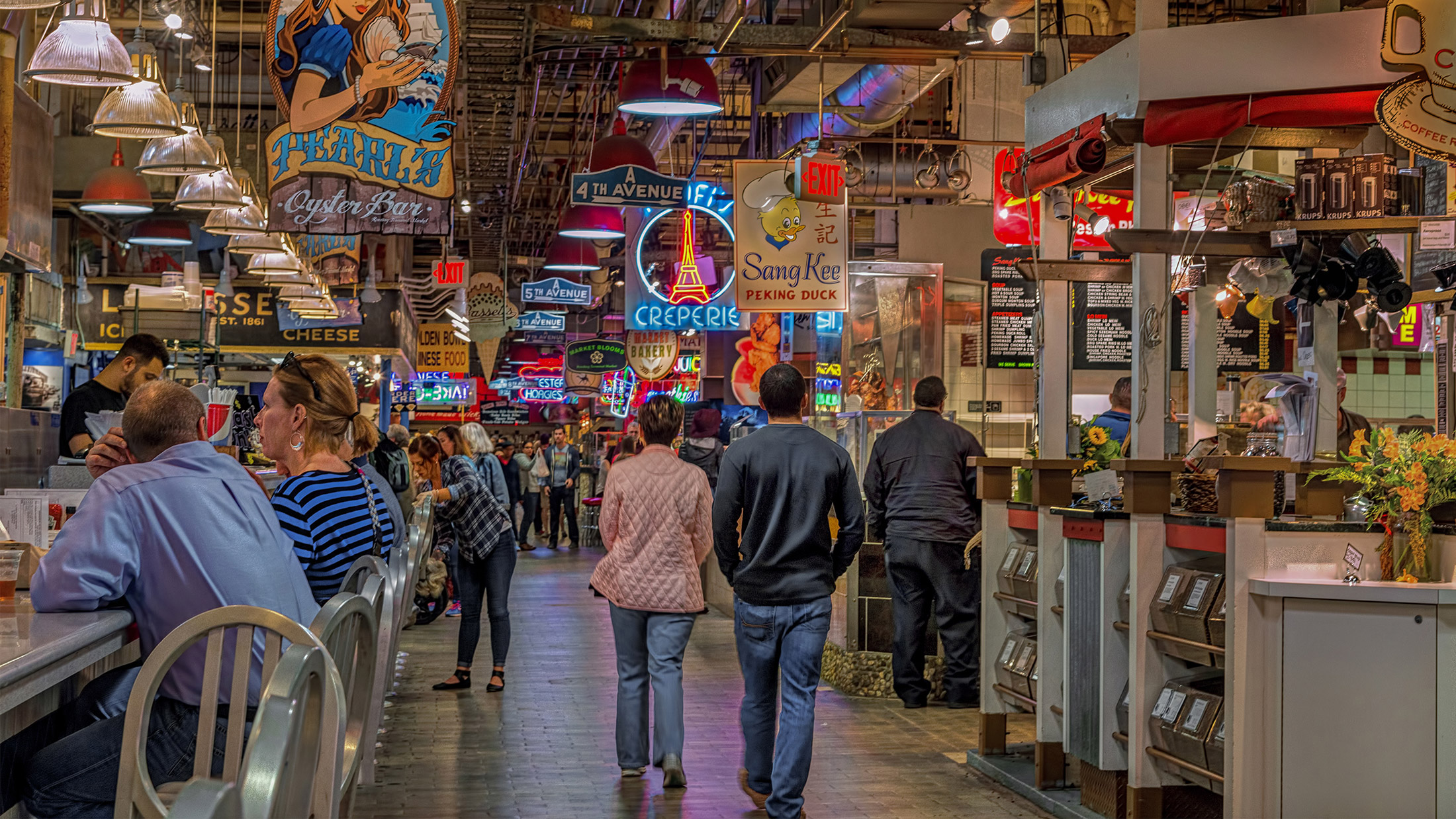 10 Awesome Things To Eat At Reading Terminal Market In Philadelphia