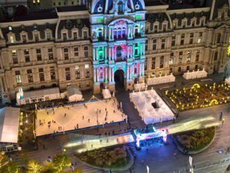 how to do the holidays at city hall in philadelphia